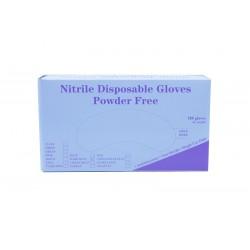 Nitril Handschuhe blau