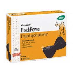 Weroplast® BlackPower Fingerkuppenpflaster