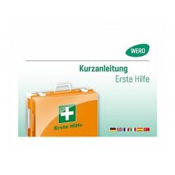 Instructions de premiers secours