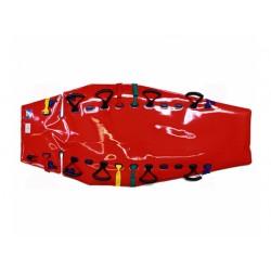 RedVac, adapté à la forme du corps, avec des ouvertures pour sangles de retenue