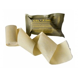 Celox® agent hémostatique, bandage roulé