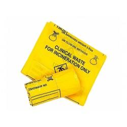 Sacchetti per rifiuti clinici