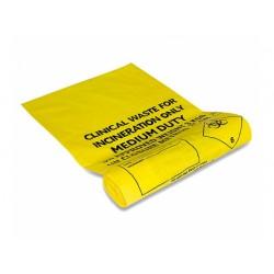 Sacs poubelle pour déchets cliniques