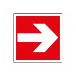 """Signes de sécurité incendie """"Flèche directionnelle"""""""