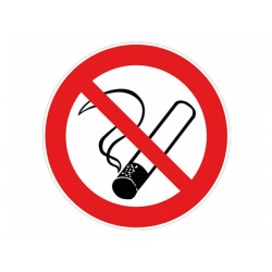 "Signalisation ""Défense de fumer"""