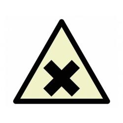 """Warnzeichen """"Warnung vor gesundheitsschädlichen/reizenden Stoffen"""""""