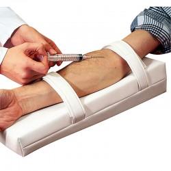 Injektionskissen mit Fixierung