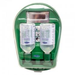 Augenspülstation geschlossen für 2 Flaschen, 500 ml