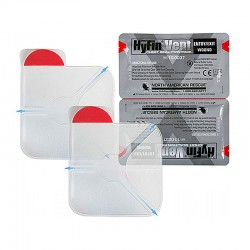 HyFin® Vent Chest Seal Twin Pack
