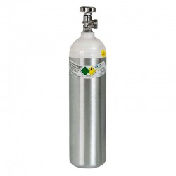 Sauerstoff Alu-Flasche, 2 l