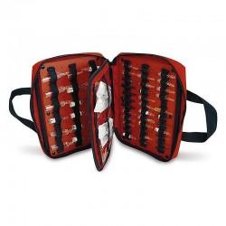 Ampullen-Koffer mit Gummibändern