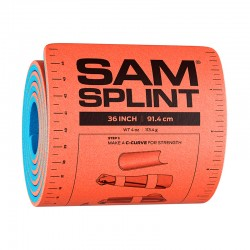 Attelle Sam Splint original, rouleau