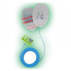 Multifunktionelle Defibrillations-Elektroden, Kinder
